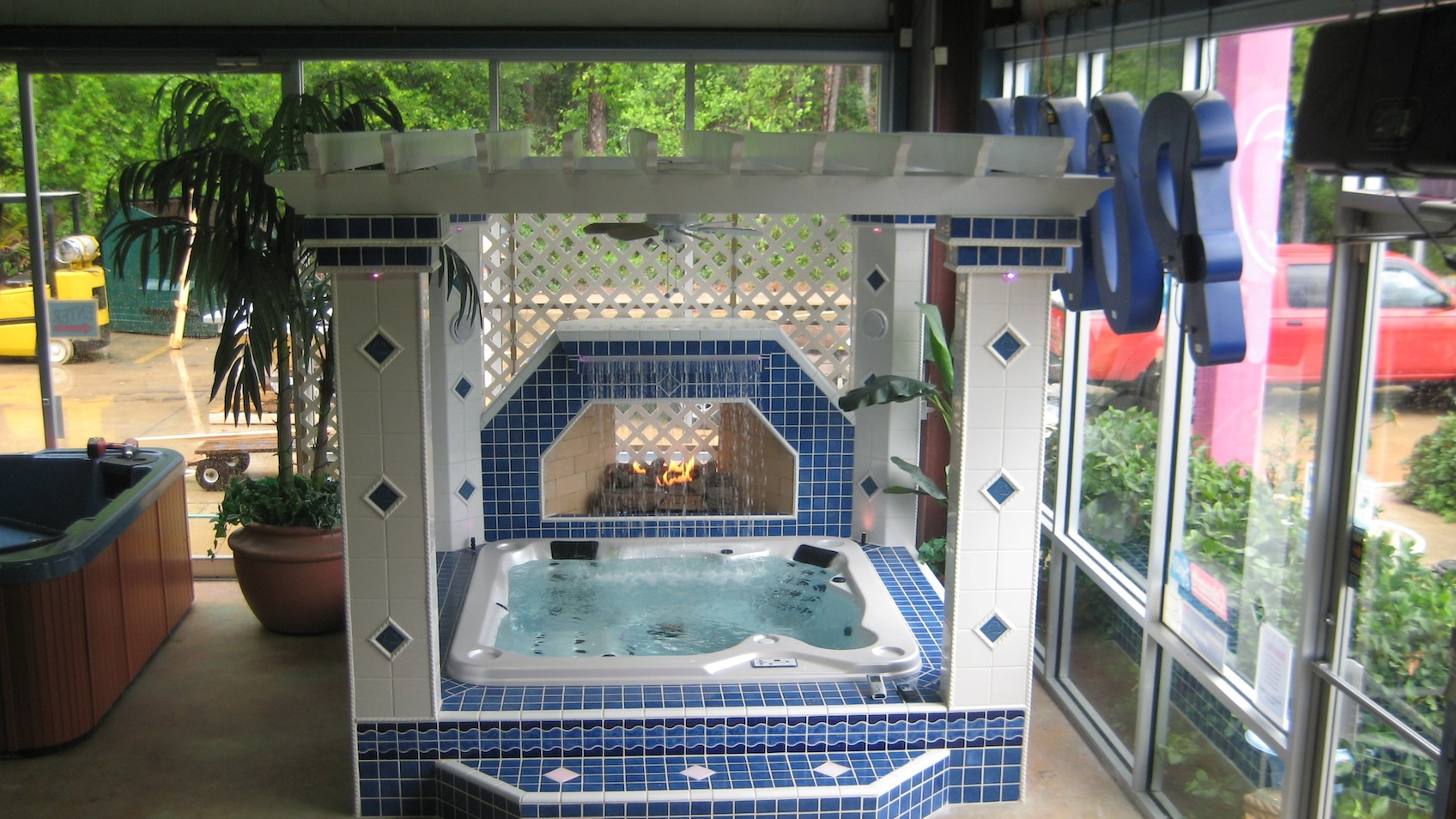 atlantic coast spas showroom, Jacksonville