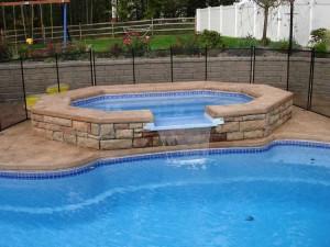 Composite custom spa