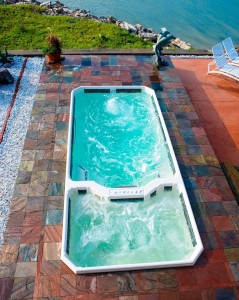 Rio Plastics Swim Spa